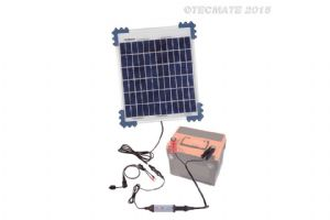 Optimate Solar Panel Impulse Charger 10 Watt TM524B